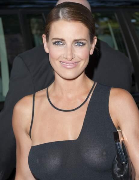 La présentatrice anglaise Kirsty Gallacher