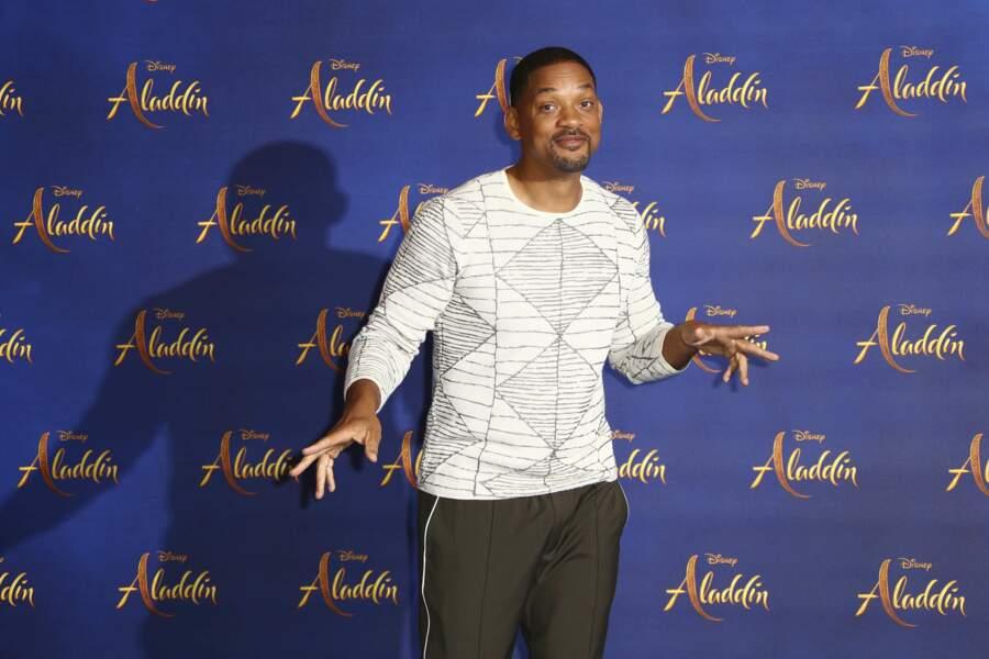 Will Smith, tout en élégance et toujours prêt à faire le show