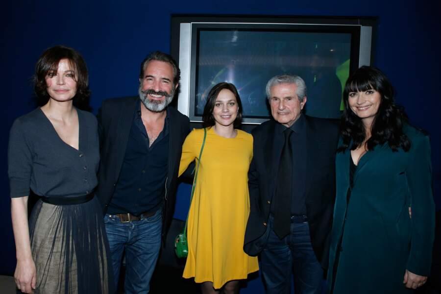 Chacun sa vie : Marianne Denicourt, Jean Dujardin, Nathalie Péchalat, Claude Lelouch et Valérie Perrin