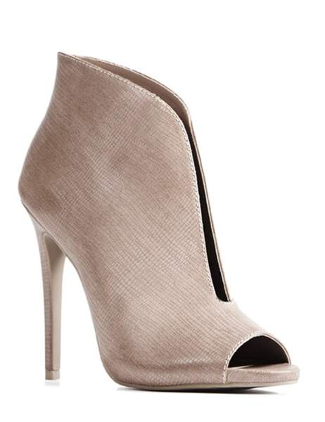 Boots open toes 39,95€ (Just Fab)