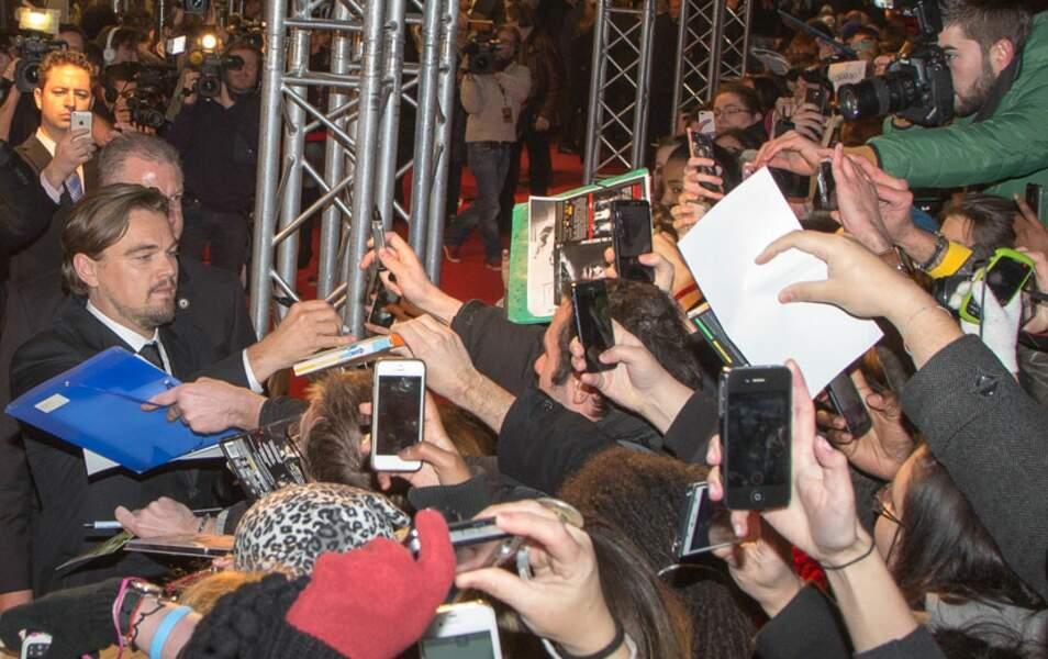 Leo a rendu quelques fans heureux