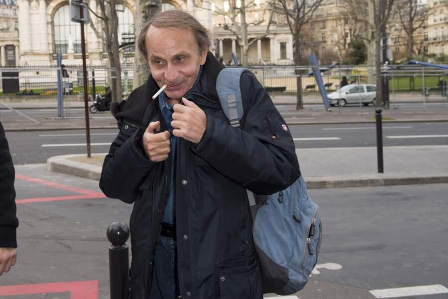 Michel Houellebecq à Paris en 2016
