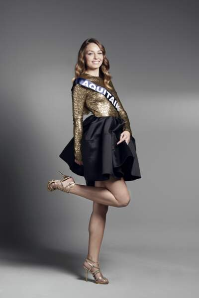 Miss Aquitaine : Axelle Bonnemaison – 19 ans