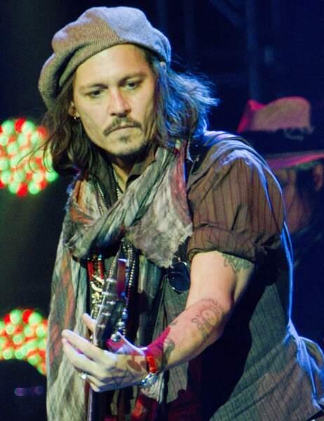Johnny Depp en décembre 2012