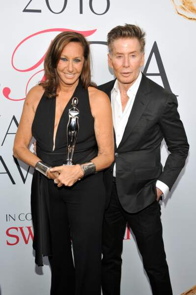 CFDA Fashion Awards : les papes de la mode Donna Karan et Calvin Klein
