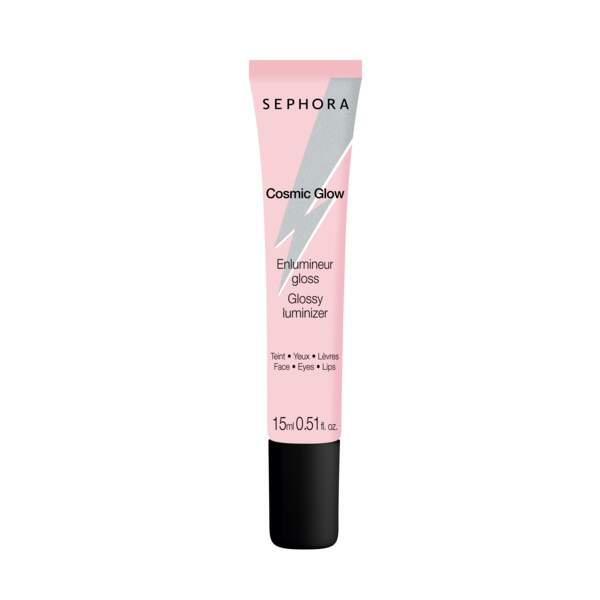 Enlumineur gloss Multi-usages. Sephora, 8,99 €,