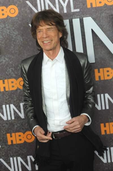 Mick Jagger est papa de 8 enfants, avec 5 femmes différentes