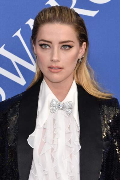 Amber Heard aux CFDA Fashion Awards 2018