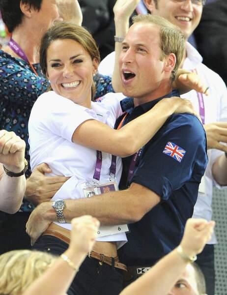 Lorsque Londres accueille les Jeux Olympiques en 2012, ils s'enthousiasment comme un couple normal