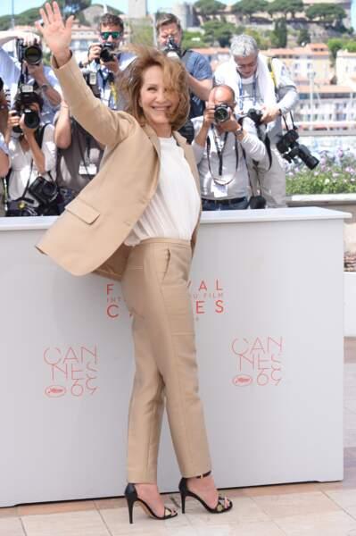 Festival de Cannes 2016 : la comédienne avait l'air ravie d'être à Cannes