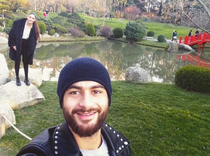 Saurez-vous trouver Jesta sur ce selfie de Benoît ?