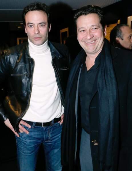 Anthony Delon et Vincent Gerra