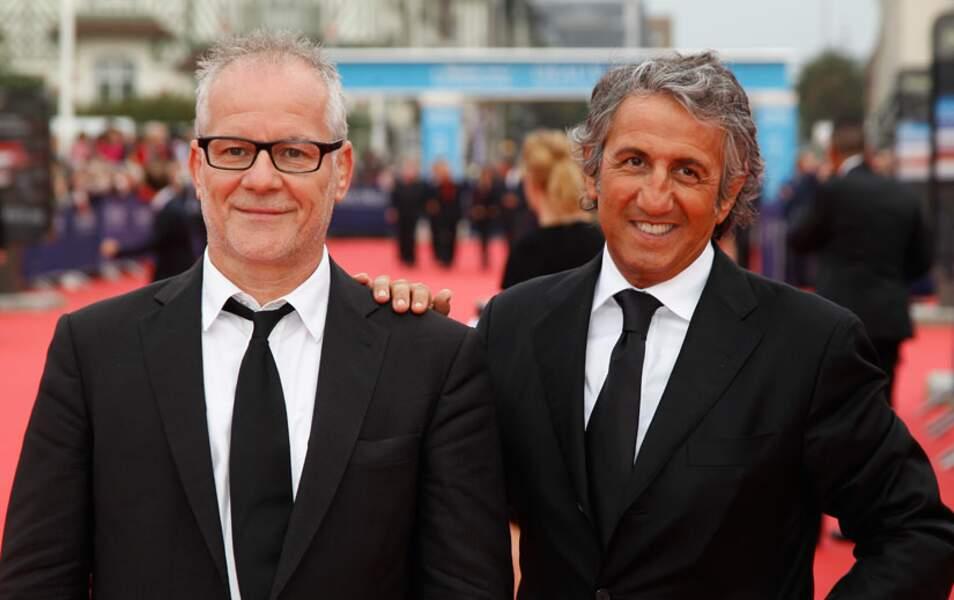 Thierry Frémaux et Richard Anconina