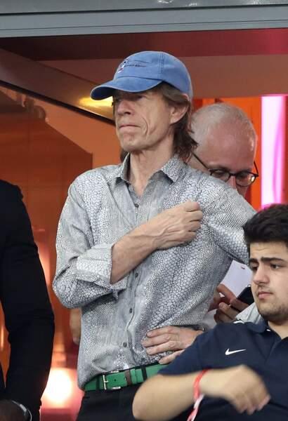 Le rockeur Mick Jagger