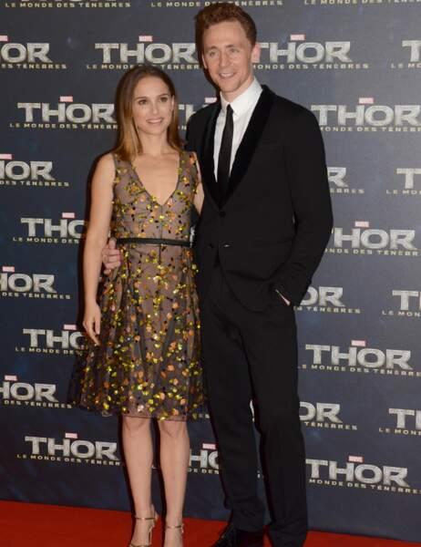 Natalie Portman et Tom Hiddleston sont quand même bien seuls sans Thor