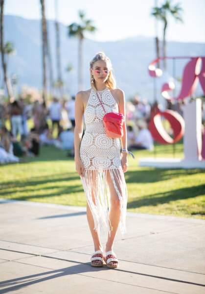Les meilleurs looks de la première semaine de Coachella :  Leonie Hanne