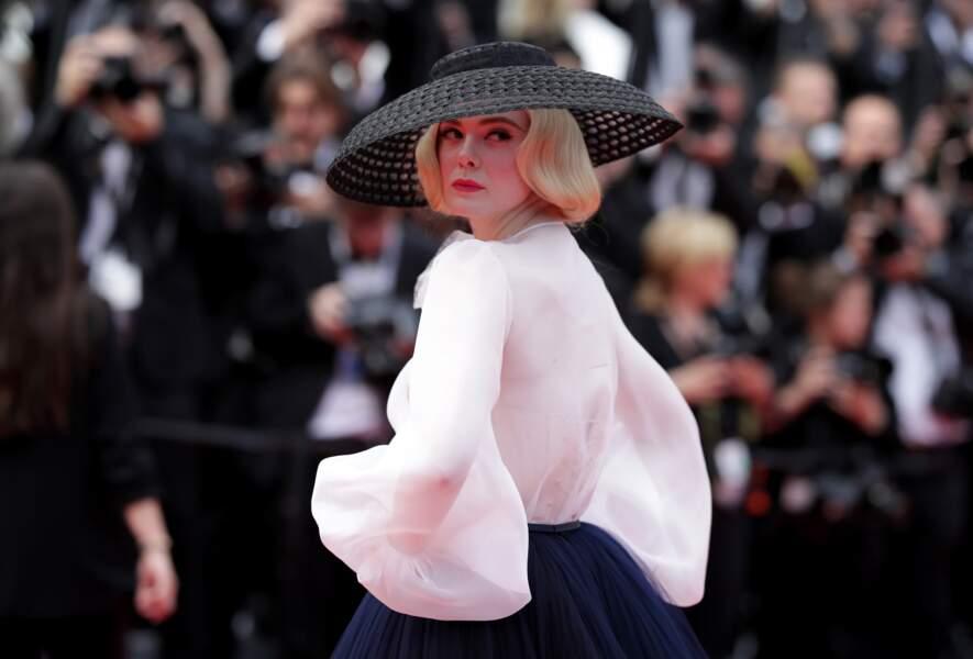 Elle Fanning en Dior