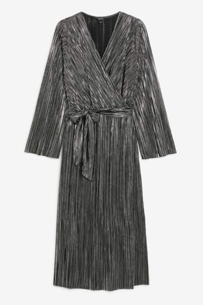 Robe plissée, Monki, 35€