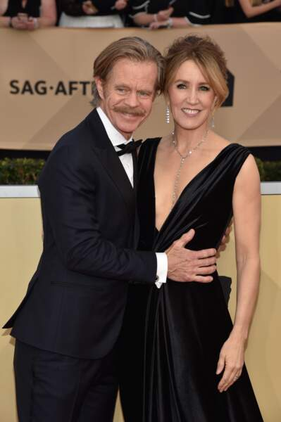 William H. Macy et Felicity Huffman aux SAG Awards