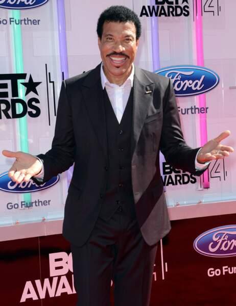 Lionel Richie toujours aussi souriant