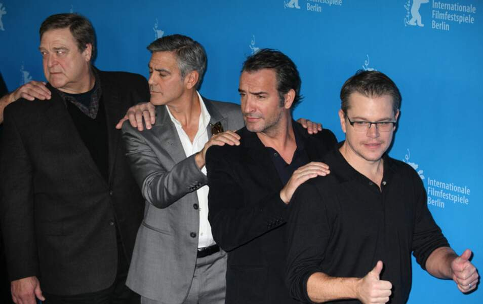 Matt Damon, Jean Dujardin, George Clooney et John Goodman