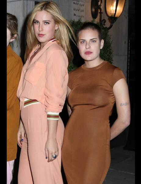 Les deux jeunes femmes s'étaient mises sur leur 31 pour l'occasion