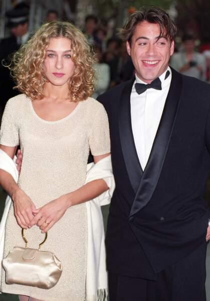 Sarah Jessica Parker et Robert Downey Jr en couple de 1984 à 1991