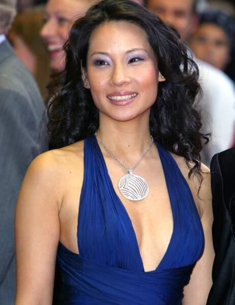 Lucy Liu il y a dix ans...