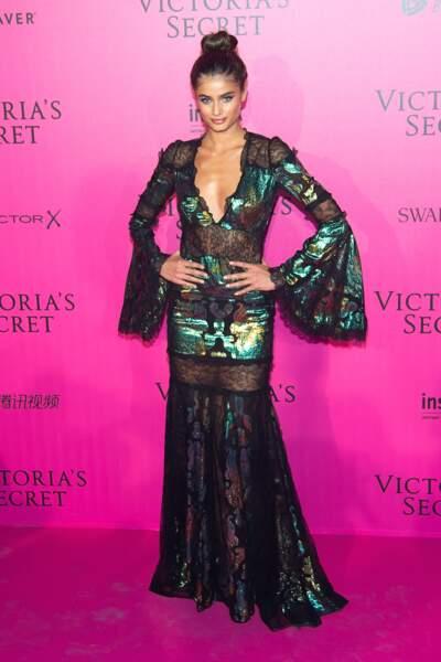 Défilé Victoria's Secret : Taylor Hill en Roberto Cavalli
