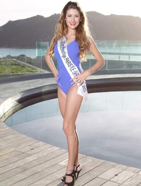 Wendy GRENIER, Miss Prestige Paris Île de France