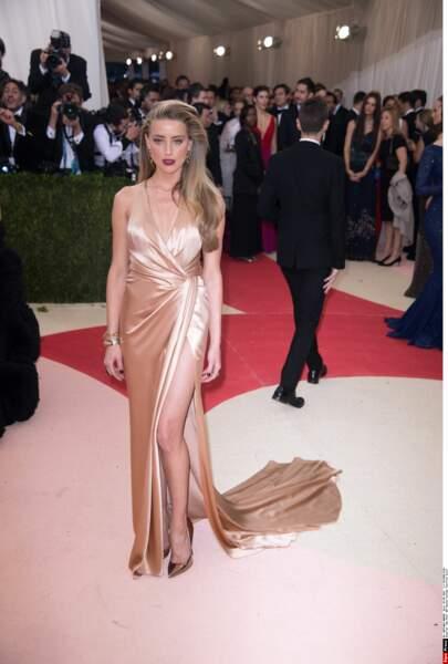 Amber Heard en Ralph Lauren