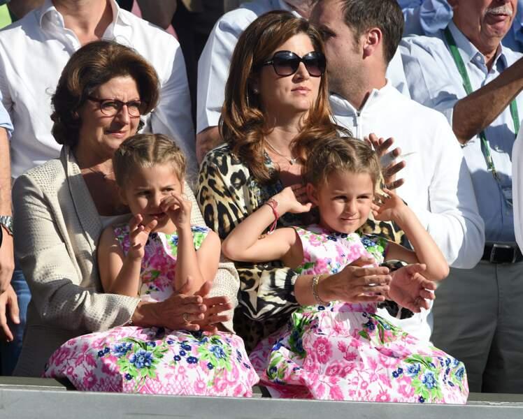 Ces stars parents de jumeaux : Charlene et Myla sont nées le 23 juillet 2009