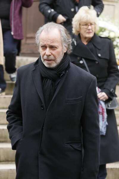 Obsèques de Michel Legrand à Paris : Michel Leeb
