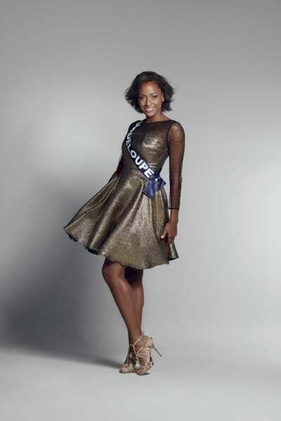 Miss Guadeloupe : Morgane Thérésine – 20 ans