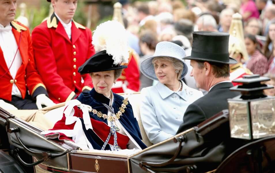 La princesse Anne et Birgitte, duchesse de Gloucester