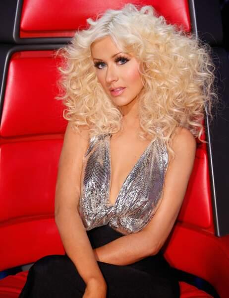 Christina Aguilera n'a manqué qu'une seule édition...
