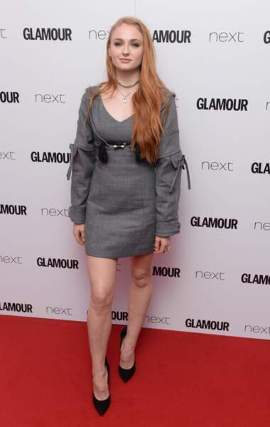 Sophie Turner aux Glamour Awards