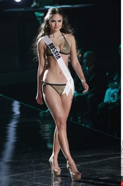 Miss Russie, Vladislava Evtushenko