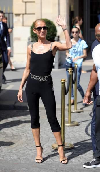 Céline Dion de passage à Paris