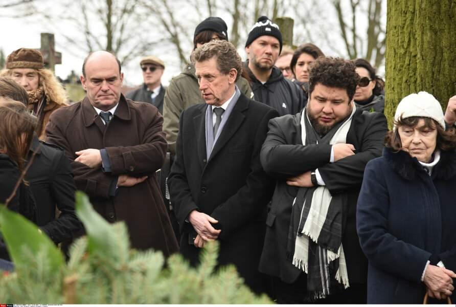 Au centre, l'ambassadeur de France en Pologne, Pierre Buhler, venu rendre hommage à Andrzej Zulawski