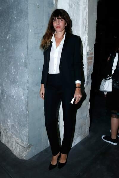 Fashion Week défilé Saint Laurent : Lou Doillon