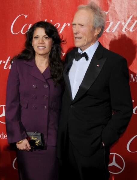 Clint Eastwood et Dina