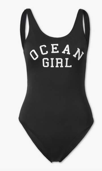 Maillot 1 pièce Ocean Girl, C&A, actuellement à 3,60€
