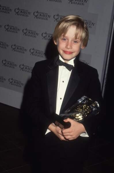 Macaulay Culkin à l'époque du film Maman, j'ai raté l'avion