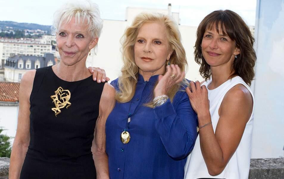 Tonie Marshall, Sylvie Vartan et Sophie Marceau