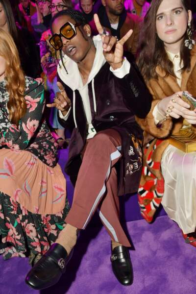Défilé Gucci : Asap Rocky