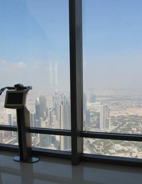 Vue en haut du Burj Khalifa