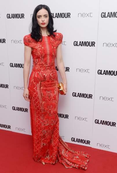 Kristen Ritter aux Glamour Awards