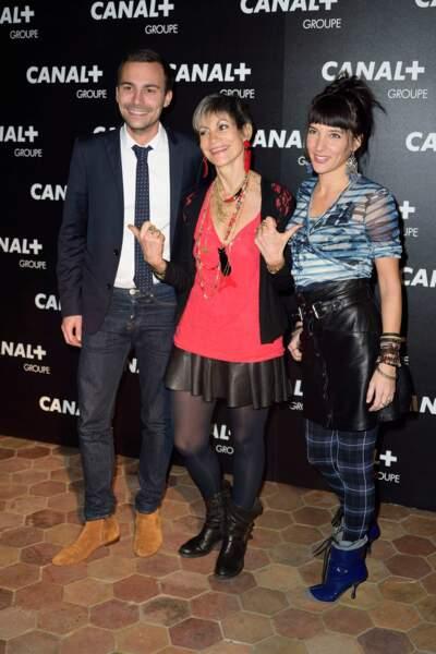 Bertrand Chameroy, Isabelle Morini-Bosc et Erika Moulet