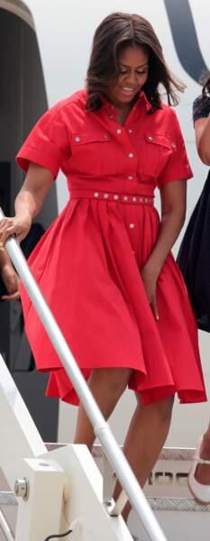 Michelle Obama en Michael Kors